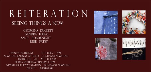 Reiteration Exhibition, February 2016