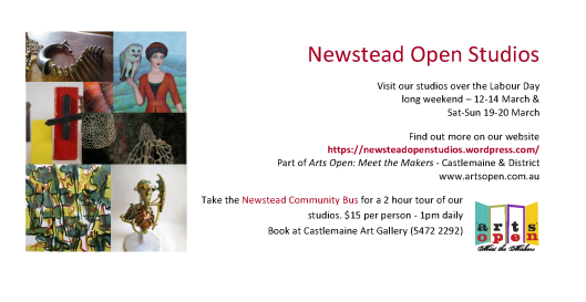 Newstead Open Studios Invite